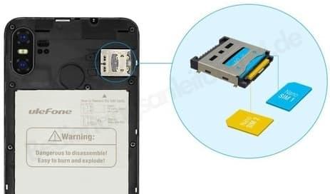 Hd Plus Karte Einlegen.Ulefone S9 Pro Sim Karte Einlegen