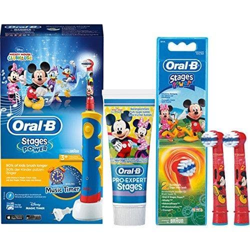 Hilfe & Anleitungen für Oral-B Mickey Mouse elektrische Zahnbürste