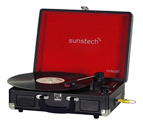 Sunstech PXR6SBTBK Schallplattenspieler