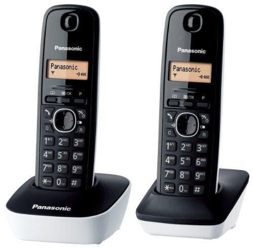 Panasonic KX-TG1612 Duo DECT-Schnurlostelefon
