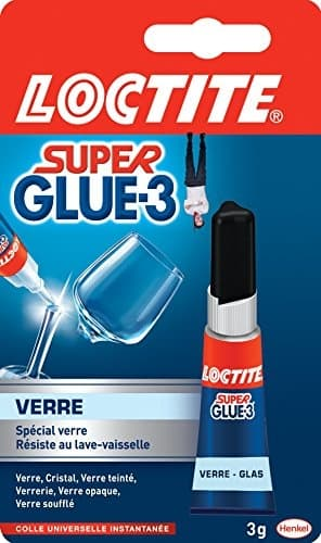 Loctite Super Glue 3 Glaskleber