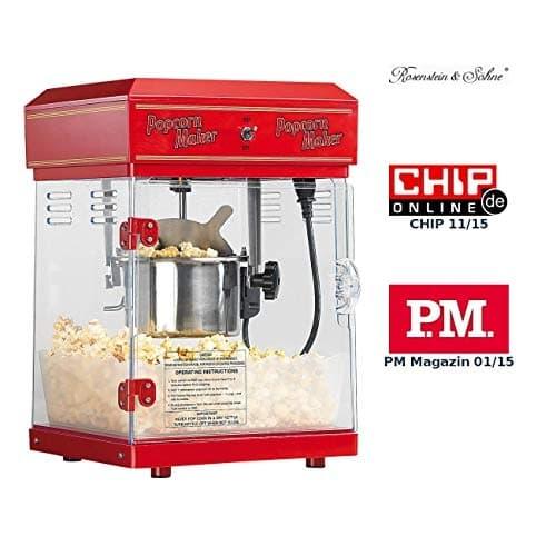 Rosenstein & Söhne Popcornmaschine Cinema