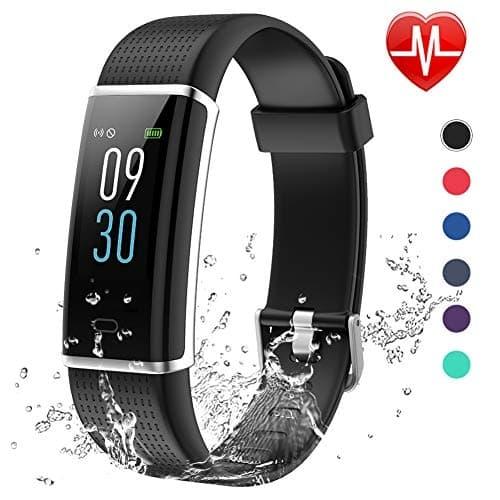 Lintelek ID130 Plus Color HR Fitness Armband