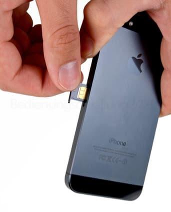 Iphone Sim Karte Einsetzen.Apple Iphone Se Sim Einsetzen