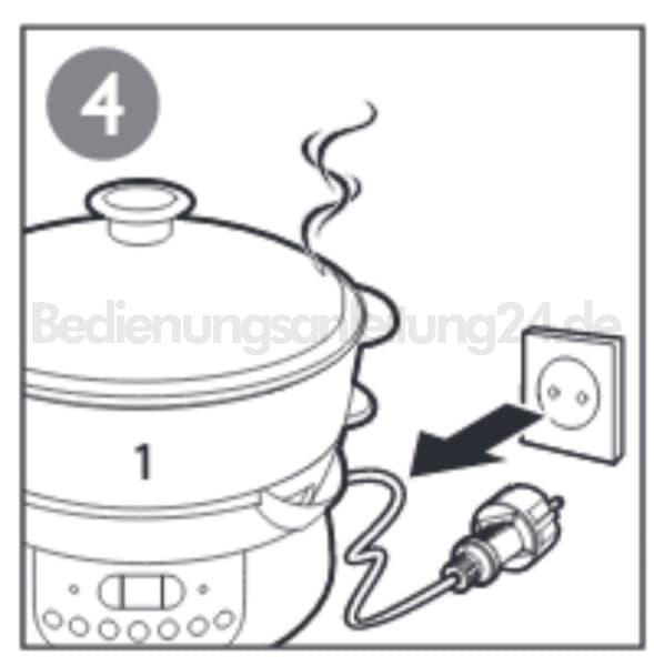 Philips HD9140/91 Dampfgarer Entkalken