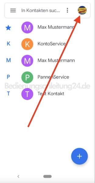 Kontakte von SIM Karte löschen - Android 9